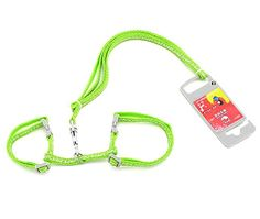 SMALLLEE_LUCKY_STORE Toy Dog Cat Kitten Adjustable Harness Collar with Lead Giraffe Small Green *** See this great product.Note:It is affiliate link to Amazon.