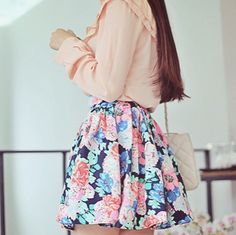 I've been obsessed with skirts lately