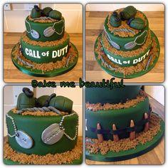 Call of duty cake
