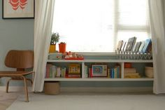 Toddler Boy Room: make it a window seat for Benson?
