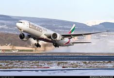 Emirates Airlines A6-EBA aircraft at Glasgow photo