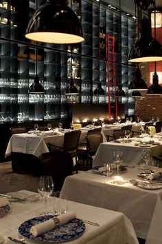 Amsterdam's Fascinating High-End Conservatorium Hotel #restaurant