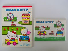 hello kitty vintage letter set - Google Search