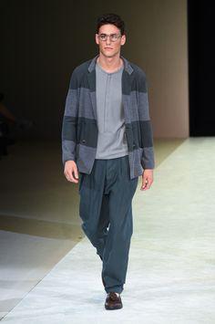 ジョルジオ アルマーニ 2015年春夏メンズコレクション ‐ 巨匠のリラックステーラード | ニュース - ファッションプレス