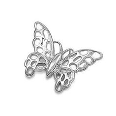 925 Sterling Silver Butterfly Pendant (Jewelry) http://www.amazon.com/dp/B006ZCS3H4/?tag=pindemons-20 B006ZCS3H4