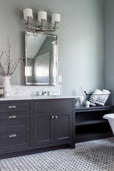 Top 10 Double Bathroom Vanity Design Ideas Grey Bathroom Cabinets Traditional Bathroom Painting Bathroom Cabinets