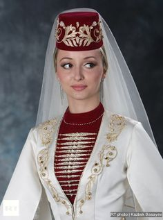 Wedding costumes Russian charm of the North Caucasus Vietnamese Traditional Dress, Traditional Dresses, Traditional Weddings, Ao Dai, Russian Wedding, Russian Brides, Wedding Attire, Wedding Dresses, Date Outfit Casual