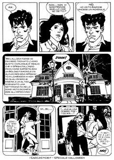 Pagina 10 - L'alba dei morti viventi - lo speciale #Halloween de #iSarcastici4. #LuccaCG15 #DylanDog #fumetti #comics #bonelli