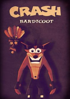Crash Bandicoot! God I love this game. Art by Julien Godin