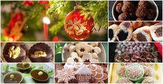 Konečne tu máme december, na ktorý sa mnohí tešia hlavne kvôli chutným zákuskom, ktoré všetci tak moc zbožňujeme. Ak ešte stále váhate, ktoré zákusky... Christmas Bulbs, Stuffed Mushrooms, Muffin, Food And Drink, December, Diet, Vegetables, Holiday Decor, Cooking