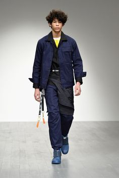 AW18 London Fashion Week: Men's—Christopher Raeburn Bold colours and functional clothes