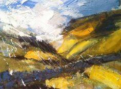 """Come Rain, Come Shine - Near Loweswater"" Nat Young Lake District, Rain, Landscape, Artist, Artwork, Painting, Beautiful, Rain Fall, Work Of Art"