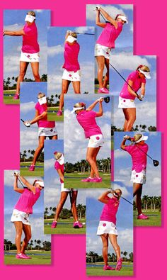Oh, Lexi Thompson -- hot pink golf shoes.