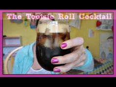 The Tootsie Roll Cocktail | Pinterest Drink #65 | MamaKatTV