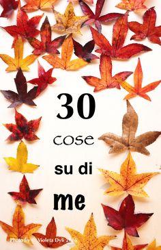 30 cose su di me