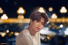 Image in NCT collection by ♡ on We Heart It Jaehyun Nct, Kpop Fanart, Nct Johnny, Johnny Seo, Fan Art Anime, Kpop Drawings, Valentines For Boys, Jung Jaehyun, Drama Korea