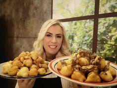Loukoumades-2-ilika-2 Crete, Pretzel Bites, Fruit, Eat, Recipes, Food, Drinks, Drinking, Beverages
