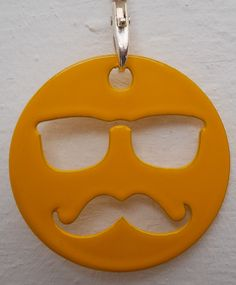 Hipster Key ring from www.nest-homegrown.co.za