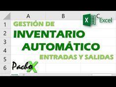 Excel - Cómo hacer inventario y control de stock. Entradas y salidas. Tutorial en español HD - YouTube