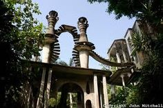 Stock photos photography of Las Pozas, a surrealistic sculpture garden created by Edward James and the nearby town of Xilitla, San Luis Potosi state, Mexico. Winding Staircase, Take The Stairs, Stairway To Heaven, Land Art, Lion Sculpture, Sculpture Garden, Stairways, Where To Go, Acre