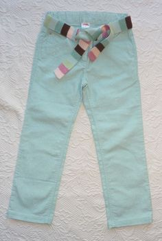 Gymboree WINTER BALLERINA Blue Glitter Sparkle Pants with Belt size 5 NWOT  #Gymboree #CasualPants #Everyday