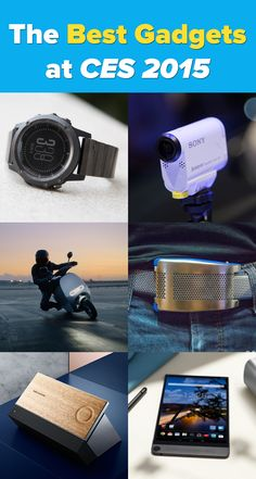 From driverless cars to smartwatches to self-adjusting belts, here are some of the coolest gadgets we saw at CES 2015. #CES2015