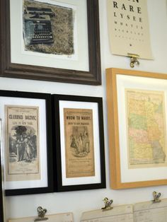 How to get artwork custom-framed at FramedandMatted.com (and how to hang a salon-style gallery wall).