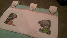 Per un fasciatoio ben organizzato! For a changing table well organized!!  #baby #nursery #teddybear