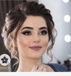 Over 90 Vintage Makeup Ideas That Highlight Your Beauty – Page 23 – # Ideas … - Wedding Makeup For Fair Skin Bridal Hair And Makeup, Wedding Hair And Makeup, Hair Makeup, Indian Wedding Makeup, Makeup Lips, Indian Bridal Hair, Mauve Makeup, Romantic Wedding Makeup, Pakistani Bridal Makeup