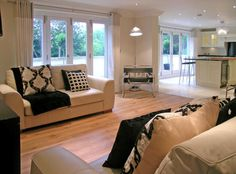 Check out this photo of a beige sleek living room on Rightmove Home Ideas