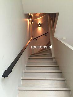 SteelLife by Roukens - Stalen deuren, taatsdeuren en scheidingswanden met glas - Roukens Staircase Handrail, House Stairs, Future House, Interior And Exterior, Sweet Home, New Homes, Lights, Places, Home Decor