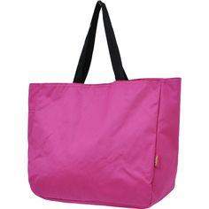 Solid Color Shoulder Tote Bag-Hpk