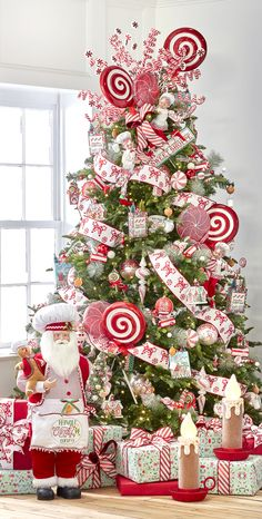Best Indoor Garden Ideas for 2020 The number of internet users who are looking for… Gingerbread Christmas Decor, Candy Cane Christmas Tree, Silver Christmas Decorations, Christmas Tree Design, Beautiful Christmas Trees, Christmas Tree Themes, Christmas Tree Toppers, Christmas Wreaths, Merry Christmas