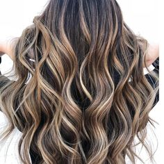 Lovely chocolate mousse balayage