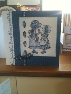 Holly hobby, Sarah Kay stamp