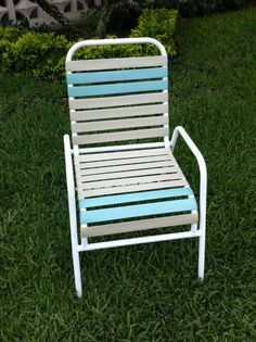 how to install vinyl strapping on a patio chair great diy rh pinterest com replacement vinyl straps for patio chairs vinyl replacement straps for outdoor chairs