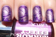 Stamping with Layla Mirror Effects ~ More Nail Polish
