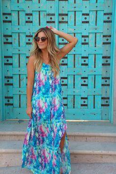 Jewel Of The Nile Maxi Dress : Becca Tilley