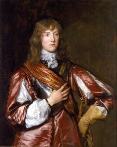 Portrait of Lord John Belasyse, First Baron of Worlaby by Anthony van Dyck in 1636 A.D.