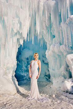 #Disney #Frozen inspired bridal shot by Snapshots #photographer Robert Evans www.snapshots.com/weddings