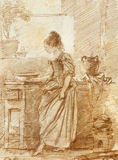 Old Paint (needsomebody-whoneedsme: Jean-Honoré-Fragonard)