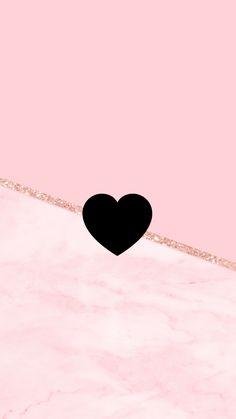 Wallpaper Elegant Heart by Gocase - Kunst Pink Glitter Wallpaper, Marble Wallpaper Phone, Rose Gold Wallpaper, Emoji Wallpaper, Heart Wallpaper, Wallpaper Iphone Disney, Iphone Background Wallpaper, Love Wallpaper, Colorful Wallpaper
