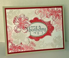 a birthday card -  Everything Eleanor, Stampin' Up! stamp set