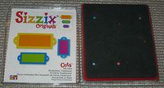 Sizzix Originals Red Die Bookplates Traditional Die 38 1054 Free SHIP SMDTS   eBay