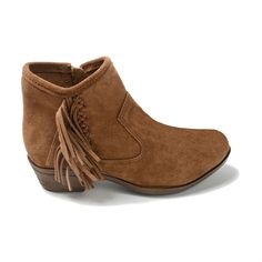 c33d4cd7190 Minnetonka Moccasins 1523 - Women s Blake Boot - Dusty Brown Suede