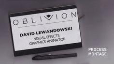 """""""Oblivion"""" process montage"""