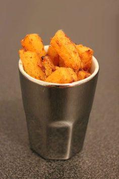 Frites de courge butternut façon « potatoes »