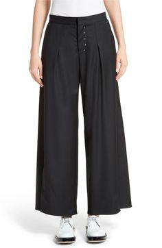 Main Image - Colovos Seasonless Wide Leg Wool Pants