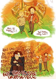 And this is why Sherlock and Doctor Who will never cross over. Sherlock would actually have an aneurysm.