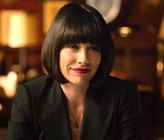 Hope ( Ant-Man, 2015) Evangeline Lilly Wasp, Evangelina Lilly, Short Hair Cuts, Short Hair Styles, Straight Bangs, Black Bob, Canadian Actresses, Marvel Girls, Marvel Actors